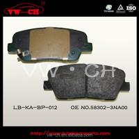 AUTO PARTS CAR BRAKE PADS HOT SALES HIGH QUALITY58302-3NA00