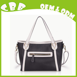 Fashion trends designer leather personalized tote bags
