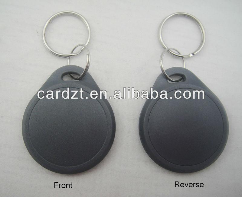 Alta calidad de Control de acceso de proximidad RFID / RFID keyfob con ABS Material de