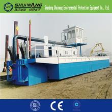 Bien utilisé dans la rivière ou mer port cutter machine à aspiration de dragage pour bas prix