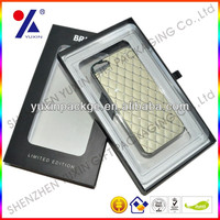 Free sample Cell Phone Case Packaging Custom Waterproof Blister PVC Clear Plastic Packaging for iphone4/4s/5/5s/6/6 plus