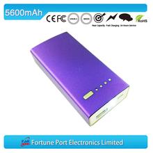 Travel Tour 5600mah wireless external portable charger battery