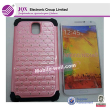 silicion cell phone case with Diamond for samsung galaxy note 3