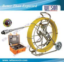 Witson desagüe deinspección de tuberías con cámara pan/deinclinación de la cabeza de la cámara, a través de dvr usb