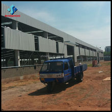 fast build low cost warehouse/hangar building with construction material