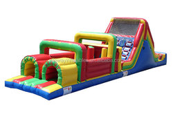 obstacle inflatable,giant inflatable obstacle course W5020
