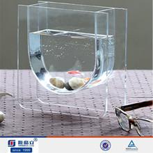 transparent clear mini acrylic fish tank ornament wholesale