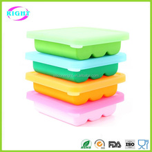 Silicone Baby Food Storage Freezer Containers