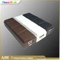 Full Capacity 18650 Super Power Bank chocolate Style Power Pocket Charger For Smartphone