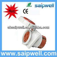 2013 NEW industrial plug ip67 power plug and socket