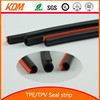 elastomer and soft rubber strip for doors and windows/ for curtain wall