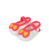 New design fancy baby girls shoes