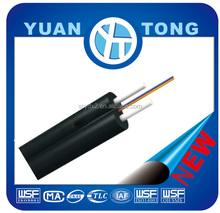Indoor 2 Core FTTH Single Mode Fiber Optic Drop Cable