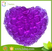 Natural honey soap from turkey ,flower heart soap,