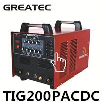 siêu 200p ac dc xung tig máy hàn nhôm