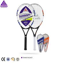 Ingrosso abbigliamento sport con racchetta alta- tenore di carbonio in lega di alluminio racchette da tennis