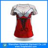 Wholesale ladies casual clothes 2015 summer printed short sex tshirt