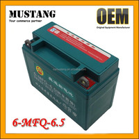 Deep Cycle Battery , Sealed Lead Acid Battery 6v for Motorcycle