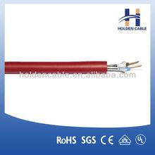 Copper conductor fire resistant cat5e cable