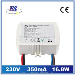 16.8W 700mA 24V AC-DC Constant Current LED Driver with Triac Dimmer (FCC UL & CUL IP65),triac dimmable led driver