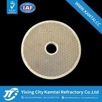 Infrared Gas Heater Honeycomb Ceramic Plate for burner