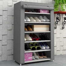 (FH-FC6010)Non-woven fabric shoe cabinet for space saving fitting