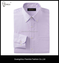 Fancy branded formal 100 cotton button down collar shirts for men