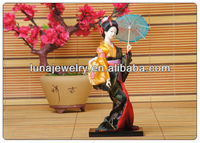"9"" Japanese GEISHA Oriental Doll japanese ,100% Handmade Carfts ,Home Decoration Doll Japanese Doll ,Birthday Gifts"