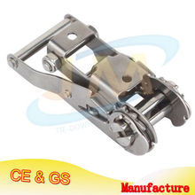 Stainless Steel Ratchet Buckle Of 1 1/16""