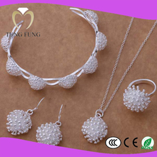 wholesale silver wholesale costume jewelry sets