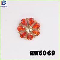 decorative crystal rhinestone embellished shoe clips on women wedding shoes