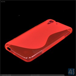 2014 S wave soft skin TPU cell phone/mobile case/cover for HTC Desire Eye