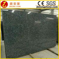 Granite polished slabs dark blue pearl low cost