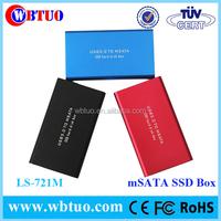 WBTUO LS-721M msata ssd case