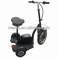 three wheel gas scooters with 2 rear wheels