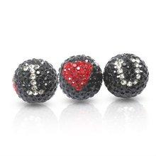 Forever Love Crystal Ball Pendant