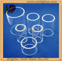 Quartz Glass Test Tube Heat Resistant Corrosion Resistant, Heat Resistant Quartz Glass Tube