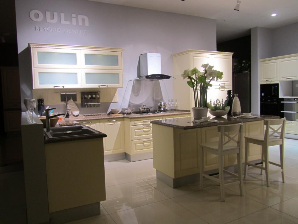 2015 Modular Prefabricated Kitchen Cabinet Pantry Unit Full Set