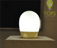 2014 fashion portable rechargeable manicure table wireless lamp with 1.5W Led Bulb