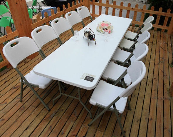 Sy 240c 240mm long cheap party tables and chairs for for Cheap long table