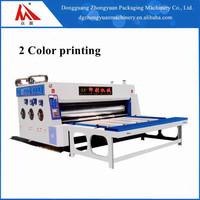 Two Colors Flexo Printing Machine Corrugated Carton Printing Cardboard Box Printing Machine