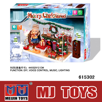 christmas decoration puppy house toy