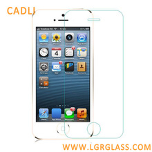 100% Prefect Fit Full Size 9H Anti-explosive Anti-Bubble Tempered glass screen protector for iPhone 5/5S Mobile accessory