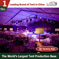 2015 New aluminum wedding outdoor event tent from China Liri Tent Manufacturer