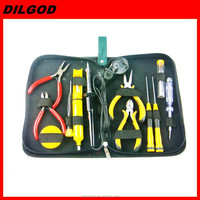 13pcs mini tool kit mechanical tool kit mobile repairing hand tool set