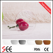 1.56 PGX Round-Top bifocal photo gray color Ophthalmic Lenses optical lens