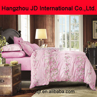Turkish style embroidery design pink bedspread home goods bed sheet