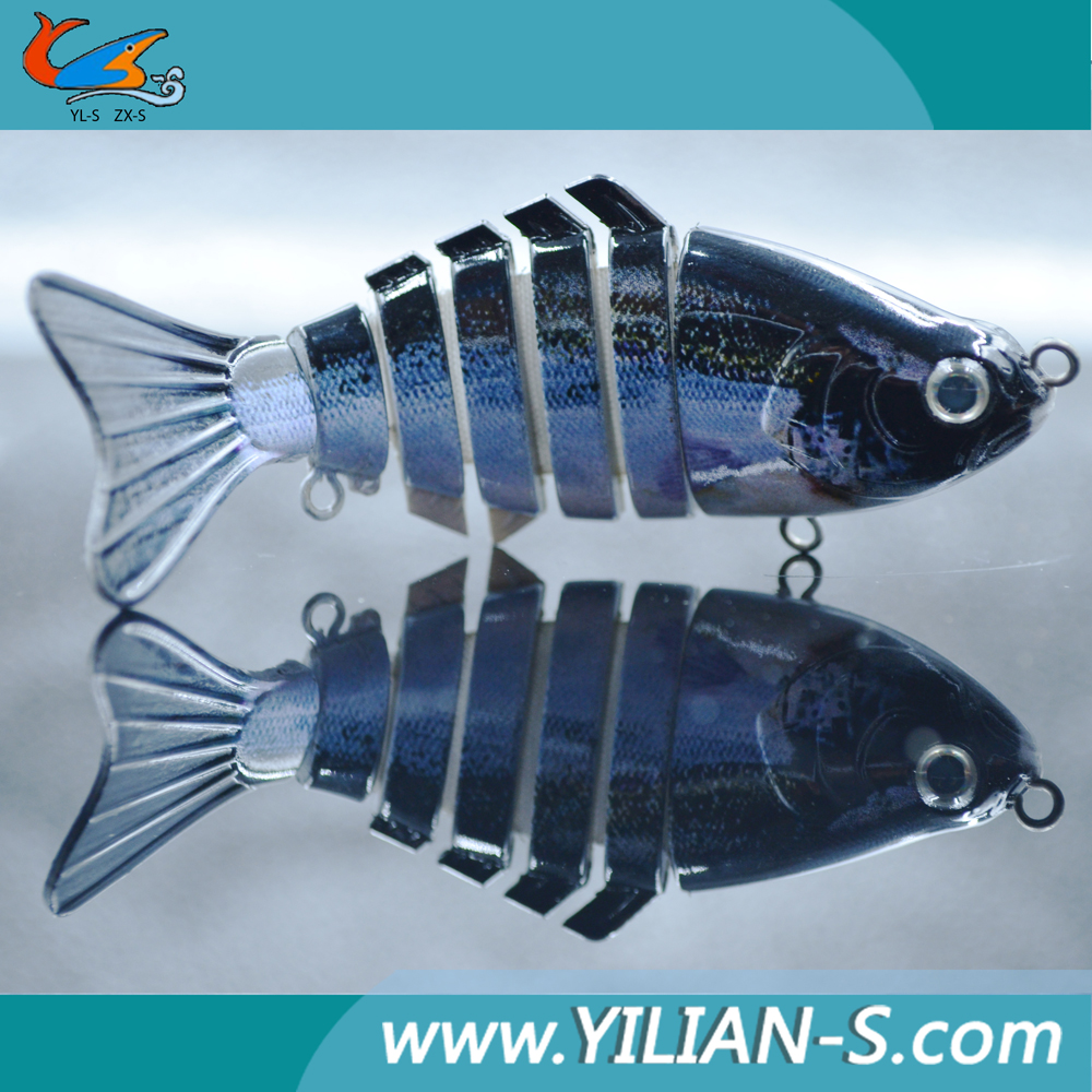 New 2016 arrival 3d eyes 4 inch jointed fishing bait for Fishing bait launcher