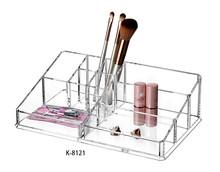 K-8121 Acrylic Lipstick/Cosmetic Makeup Organizer/Multipurpose Storage Box Nail Polish Kits Lipstick Acrylic Display Box