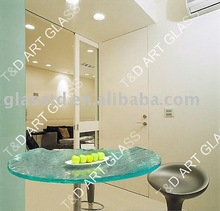 10-36mm textured irregular lounge table